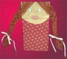 Говорящая кукла из бумажного пакета