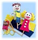 Куклы из пакетиков из-под сока