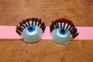 Глазки из решетки для яиц